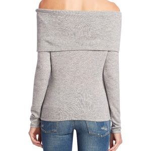 sea bleu Sweaters - Cashmere off shoulder sweater, XS